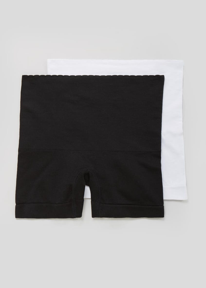 2 Pack Seam Free Control Shorts