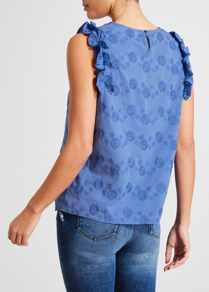 Falmer Embroidered Shell Top