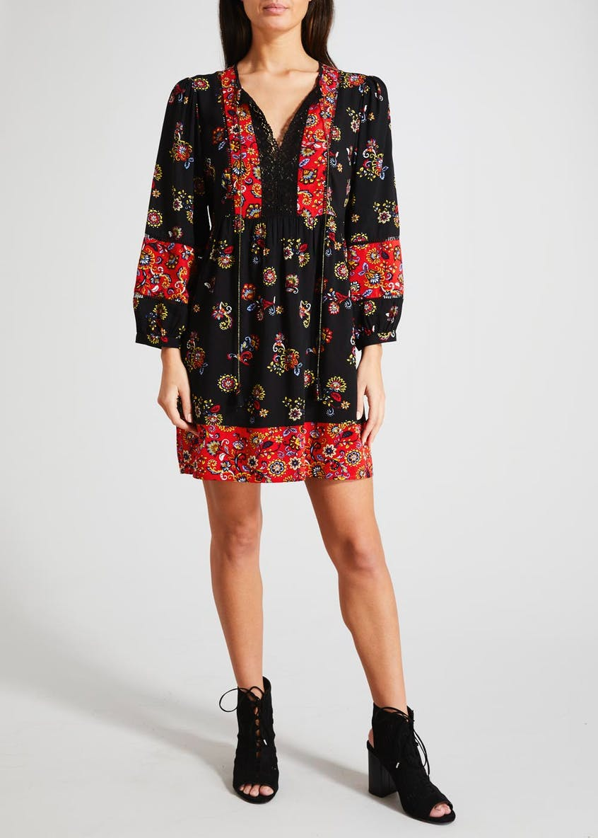 Falmer Floral Bib Dress