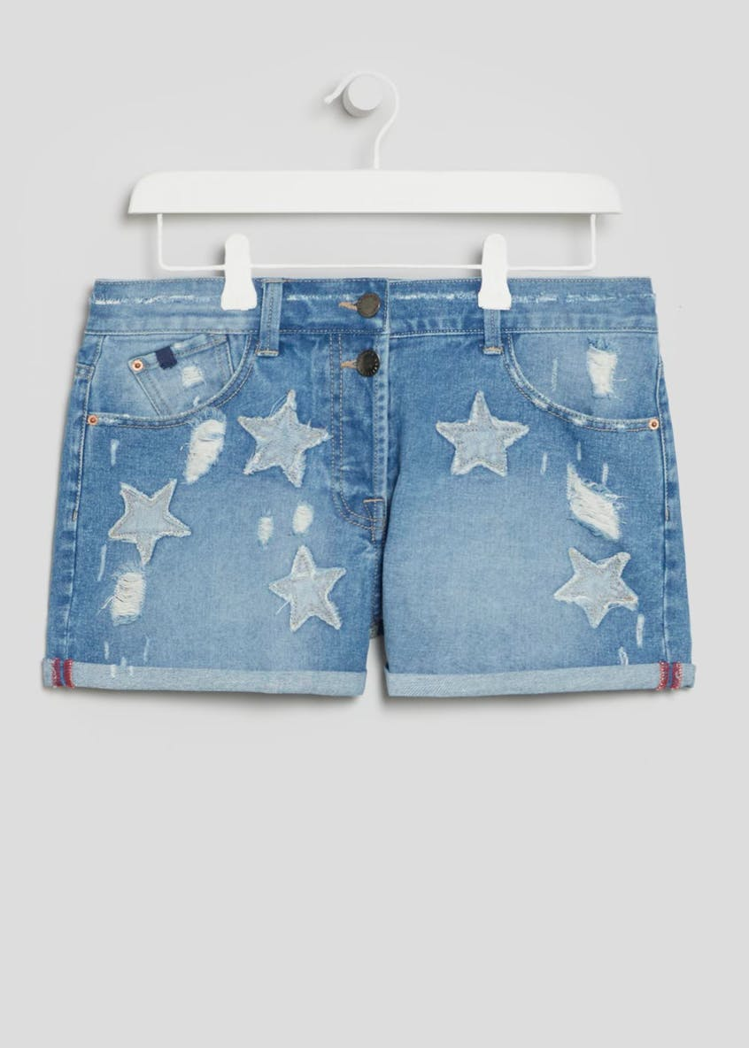 Falmer Star Denim Shorts