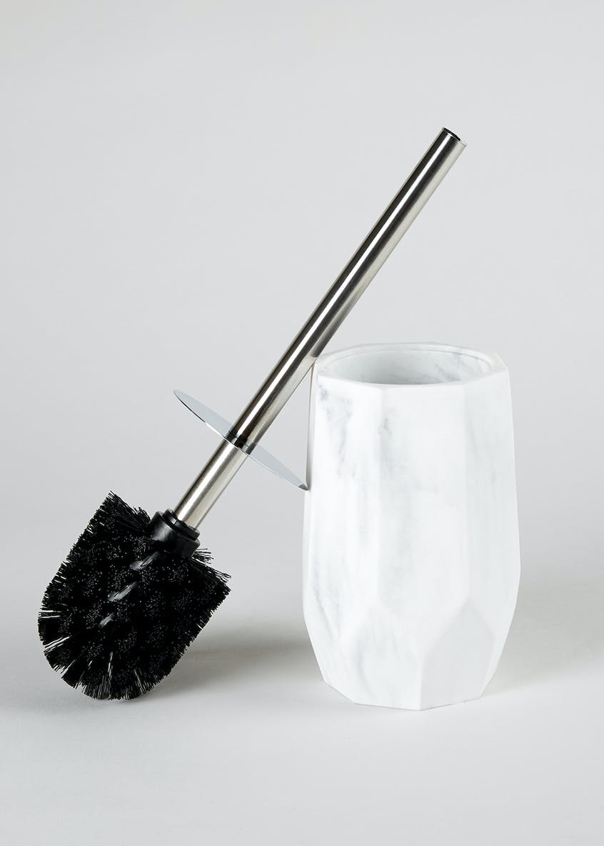 Marble Effect Toilet Brush (35cm x 10cm)