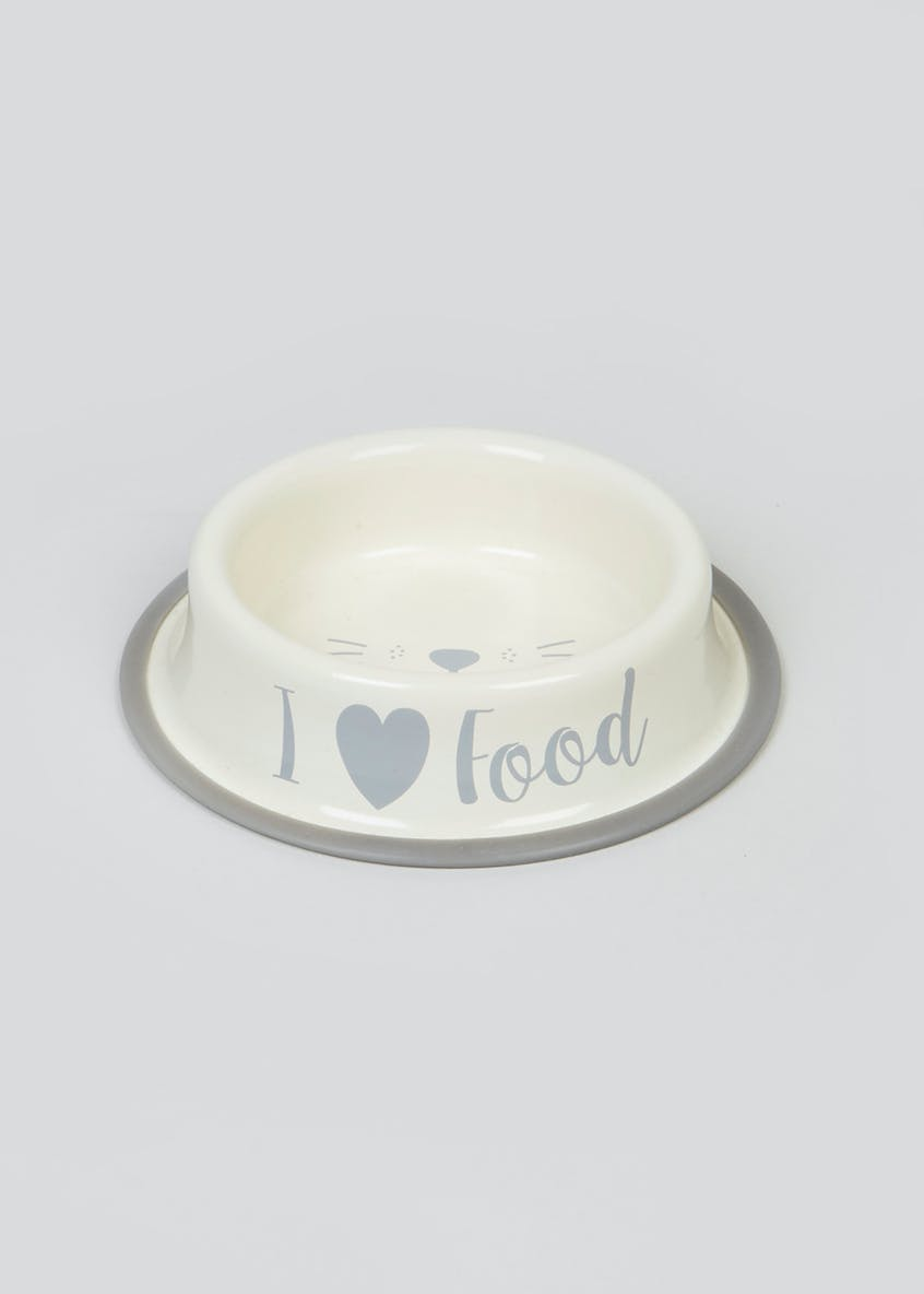 Cat Food Bowl (16cm x 16cm x 4cm)