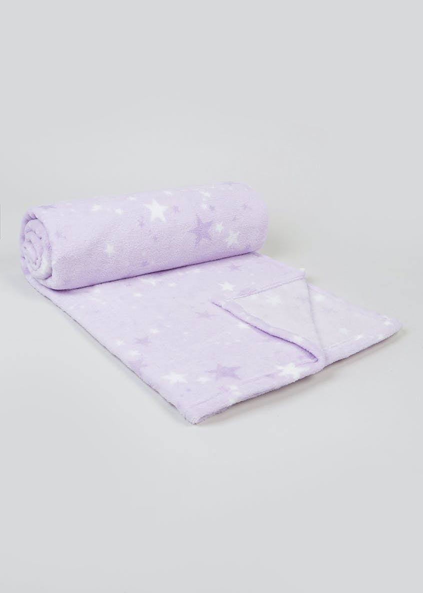Star Fleece Throw Blanket (150cm x 130cm)