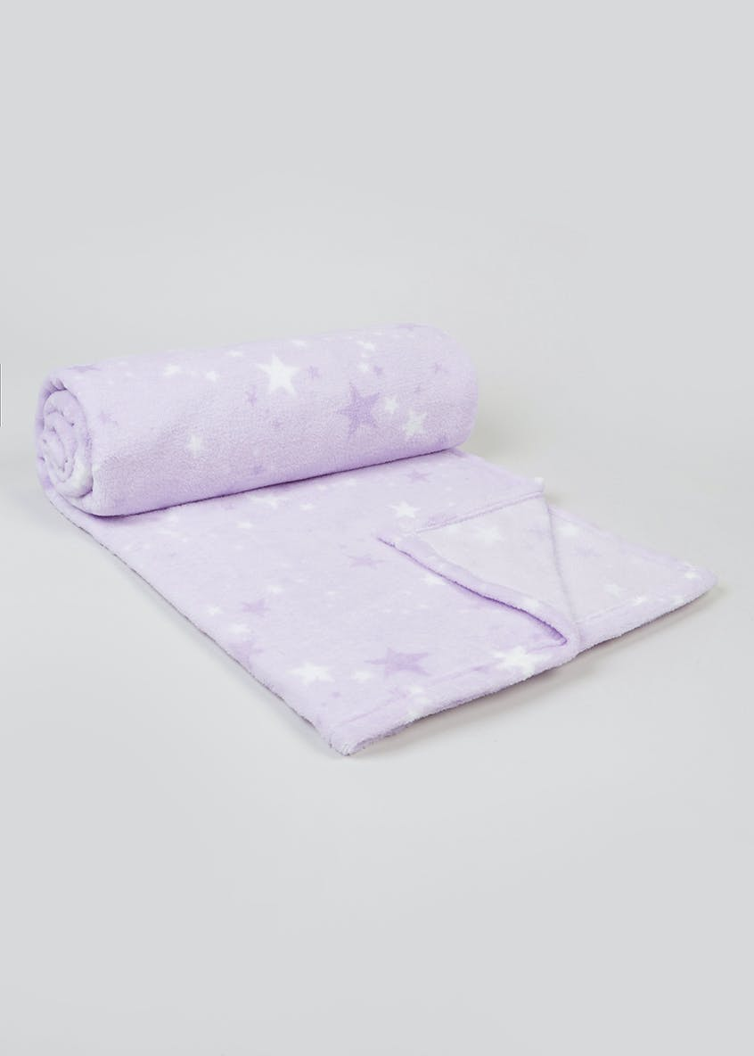 Star Fleece Throw (150cm x 130cm)