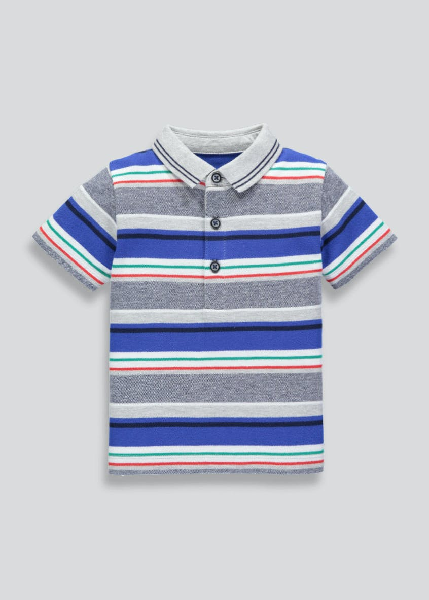 Boys Stripe Polo Shirt (9mths-6yrs)