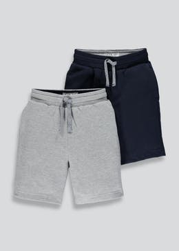 Kids 2 Pack Jogging Shorts (4-13yrs)