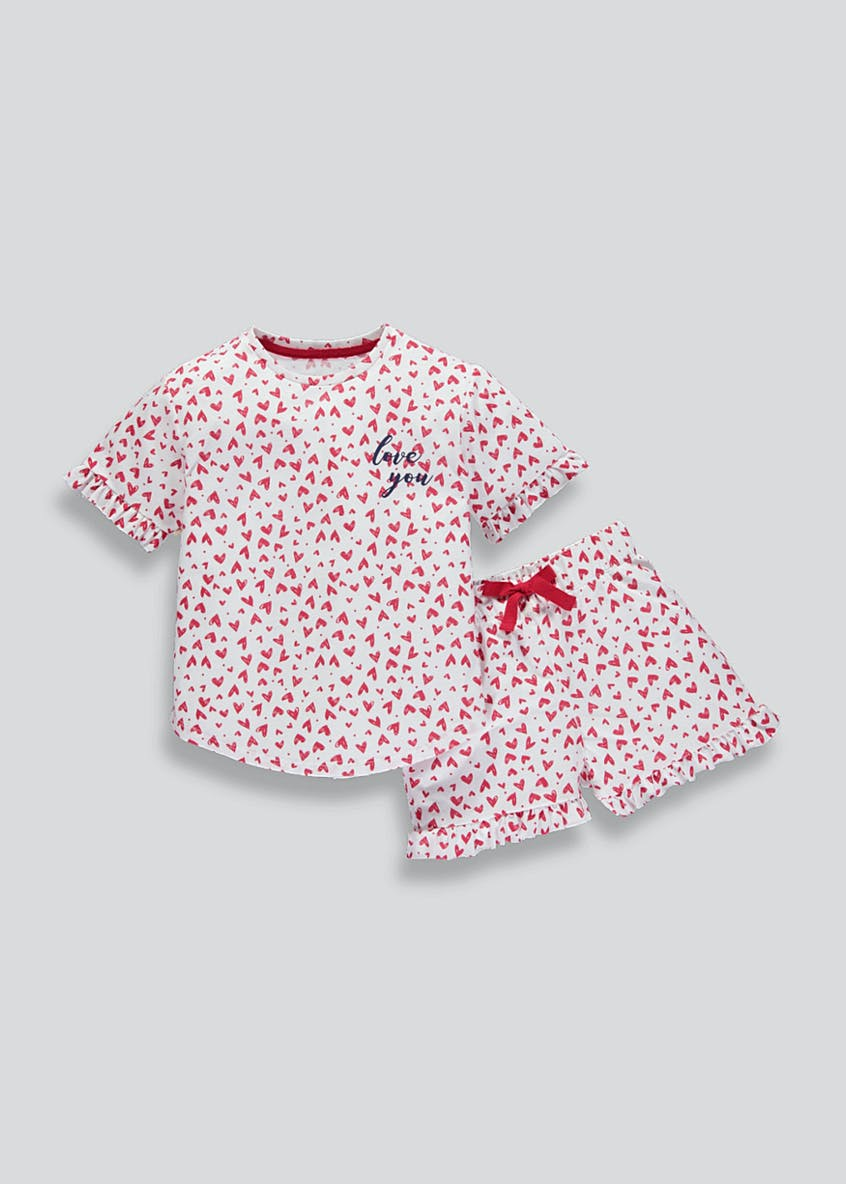 Mini Me Girls Pyjama Set (4-13yrs)