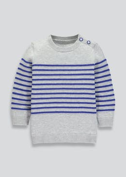 Boys Stripe Knit Jumper (9mths-6yrs)