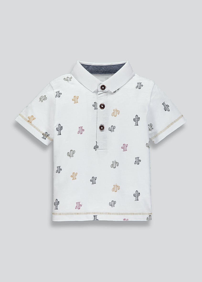 Boys Cactus Polo Shirt (9mths-6yrs)