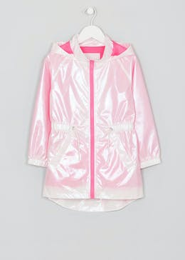 Girls Iridescent Rain Mac (4-13yrs)