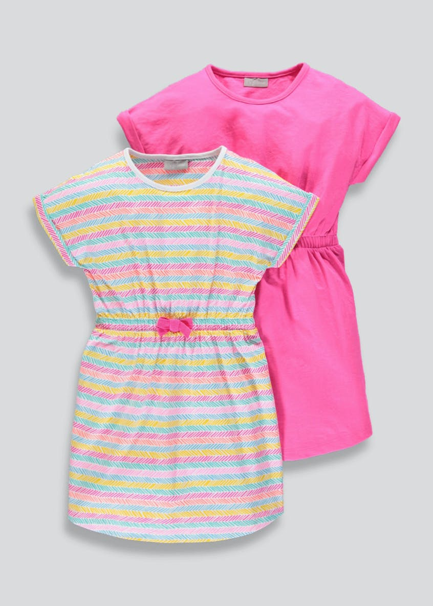 Girls 2 Pack Dresses (4-13yrs)