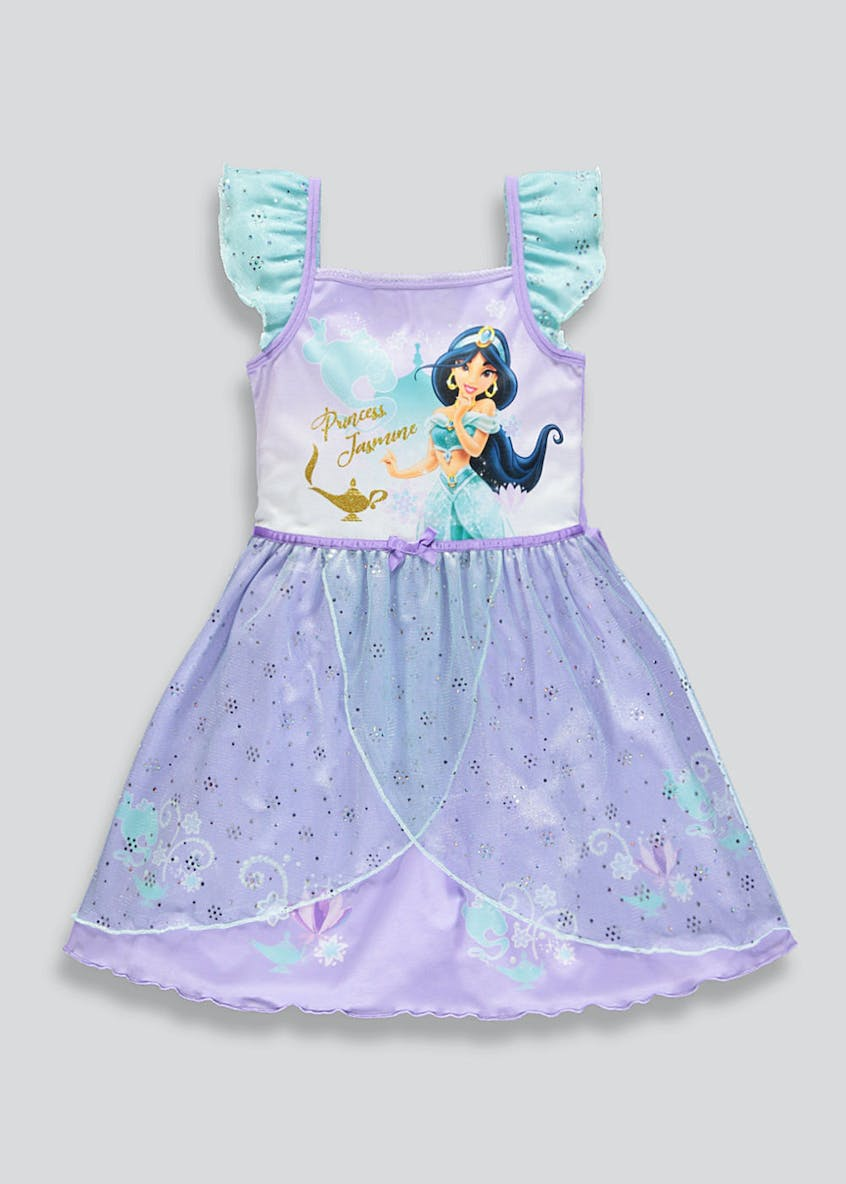 Girls Disney Princess Jasmine Dress Up Nightie (2-9yrs)