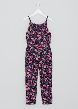 Girls Floral Jumpsuit (4-13yrs)