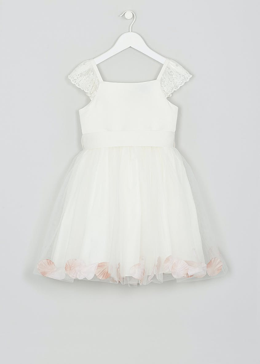 Girls Petal Flower Girl Dress (12mths-13yrs)