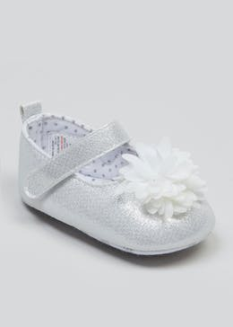 Girls Soft Sole Occasion Baby Shoes (Newborn-18mths)