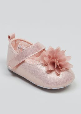 e536a3efa Girls Soft Sole Occasion Baby Shoes (Newborn-18mths)