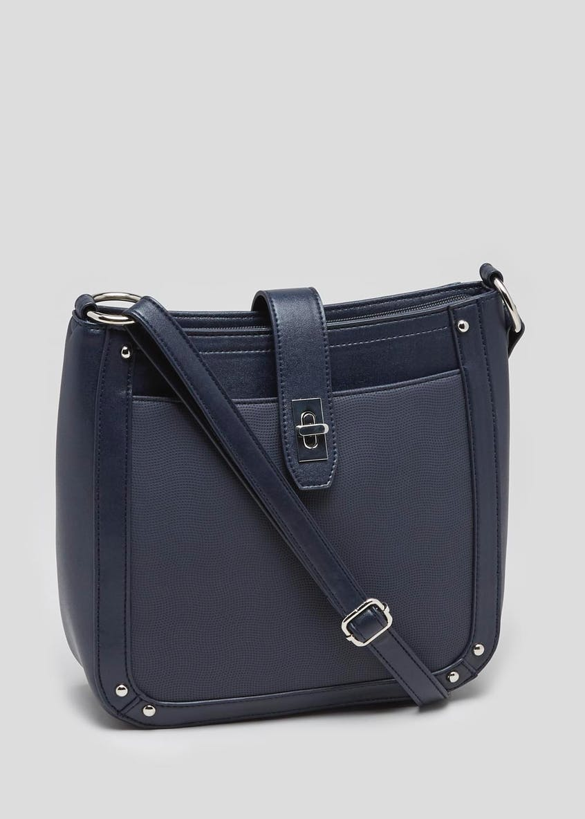 Twist Lock Cross-Body Bag