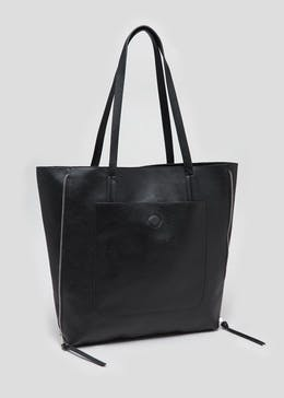 Side Zip Tote Bag