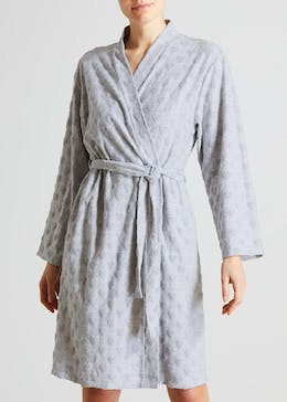 Heart Towelling Dressing Gown
