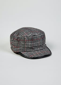 72a40f7eda085 Check Baker Boy Hat