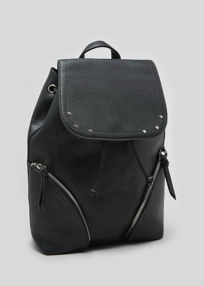 Double Zip Front Backpack
