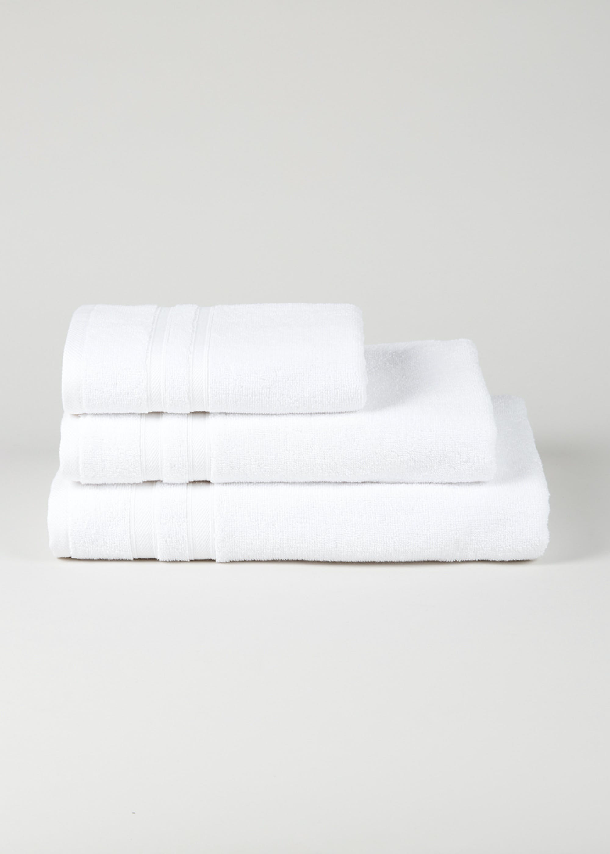 Pure 100% Cotton Towels (450gsm) White WAzbkq