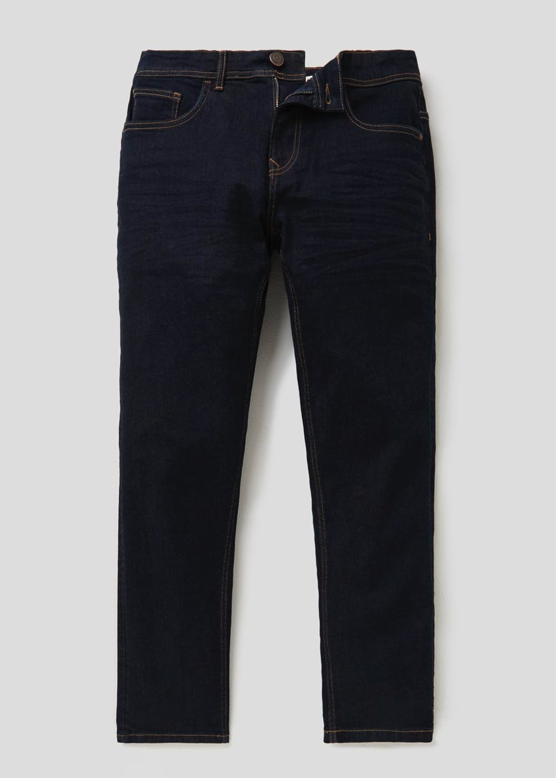Slim Fit Raw Denim Jeans