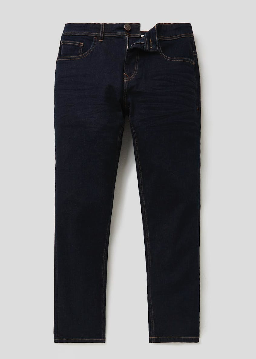 Easy Black Label Slim Fit Raw Denim Jeans