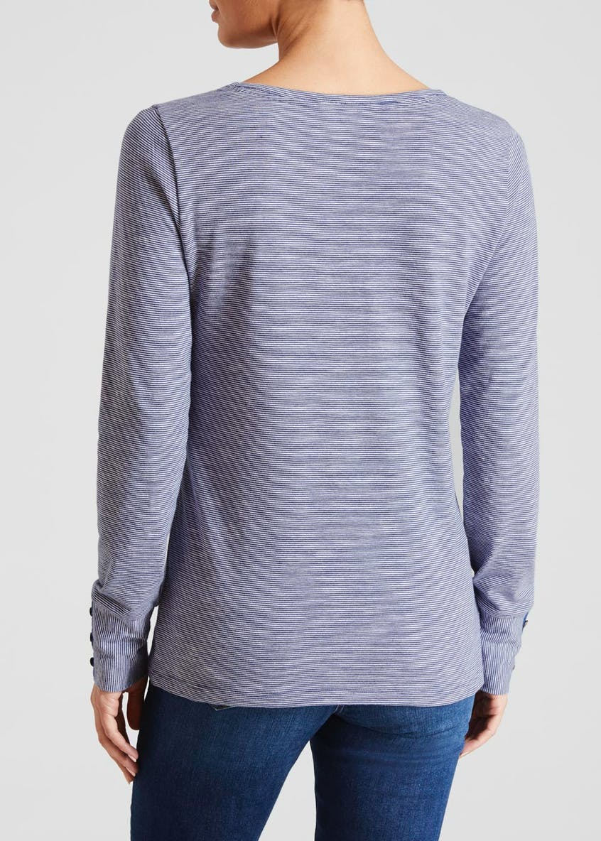 Falmer Long Sleeve Stripe Jersey T-Shirt