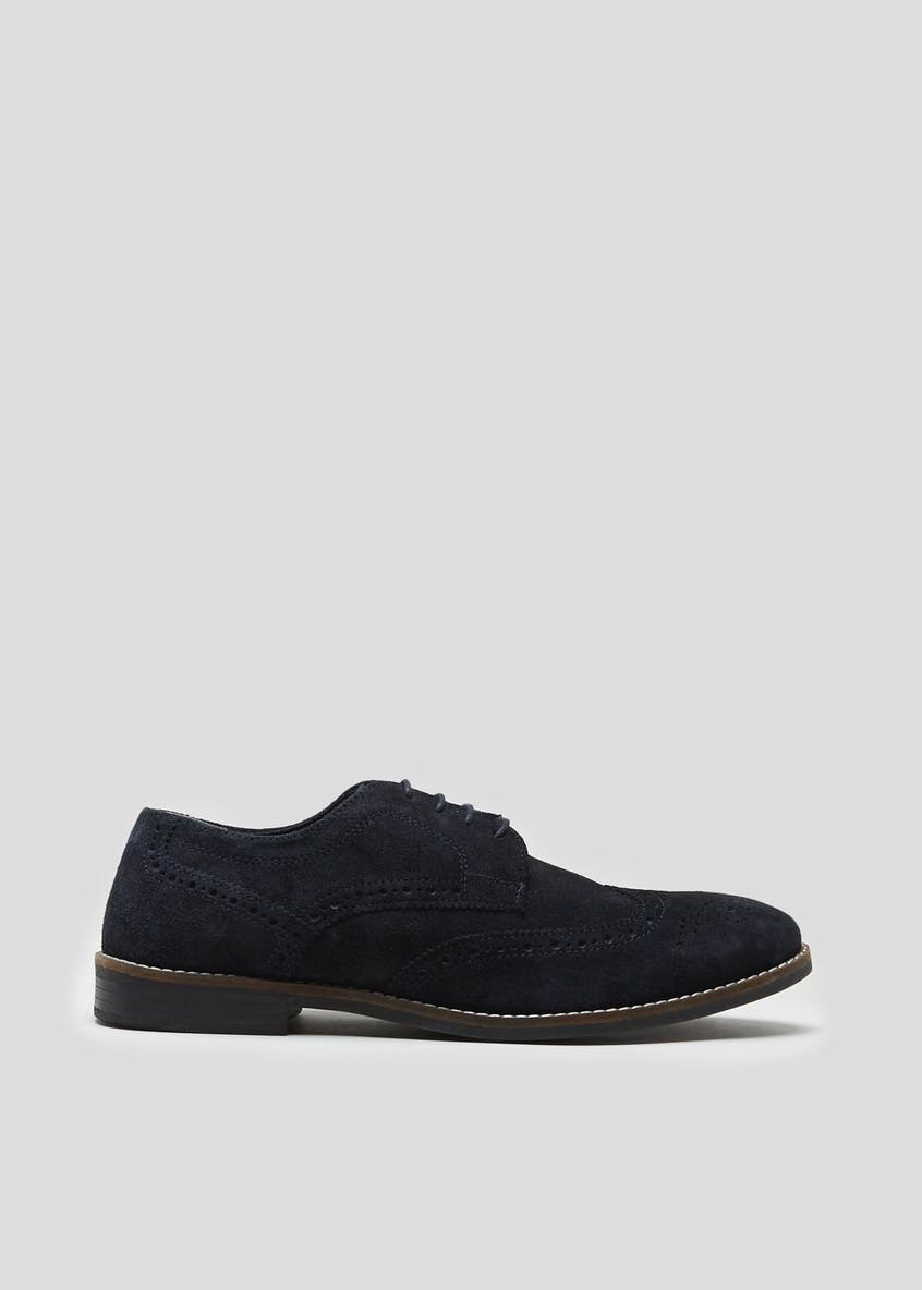 Real Suede Gibson Brogues
