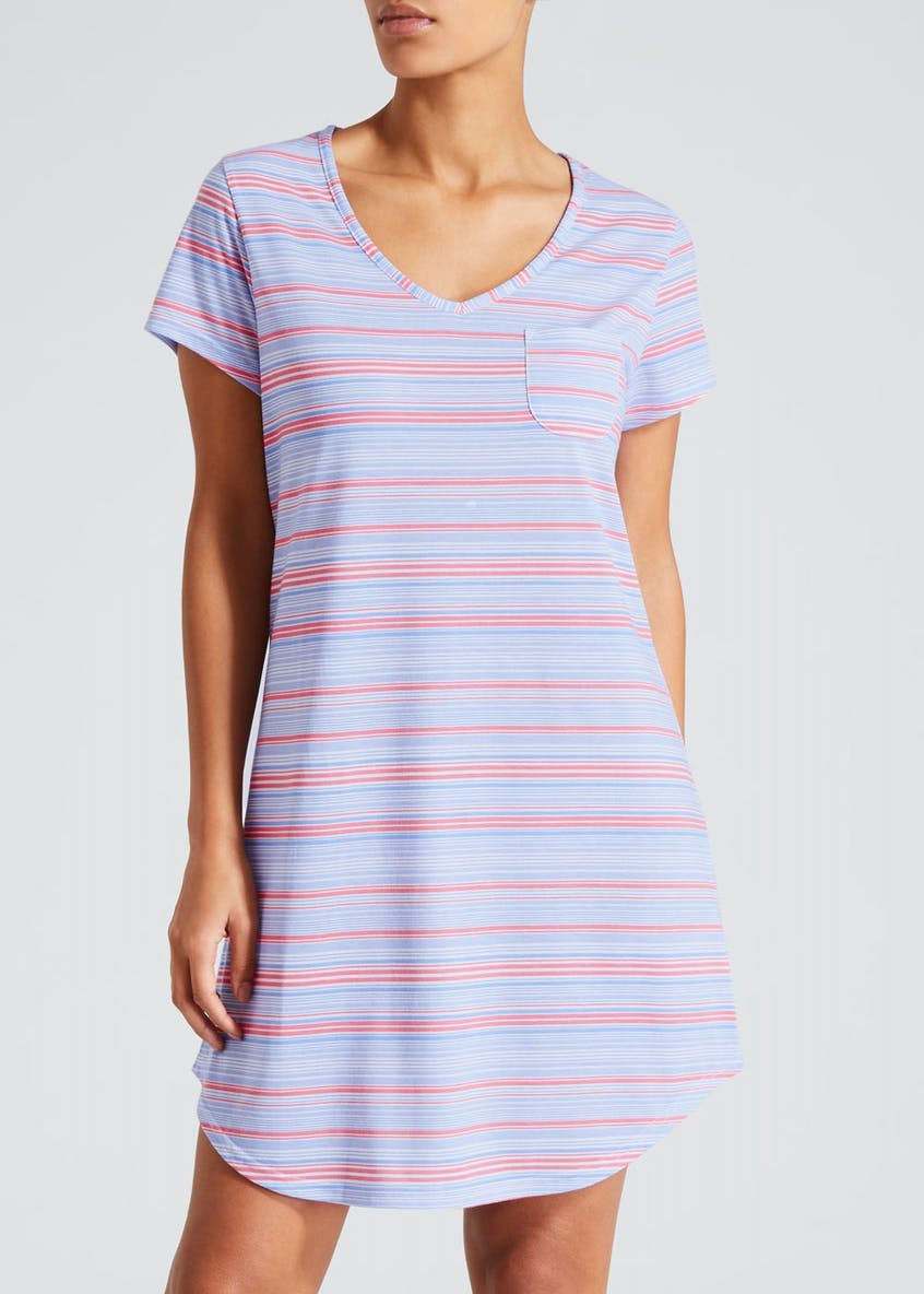 Stripe Pocket Nightie
