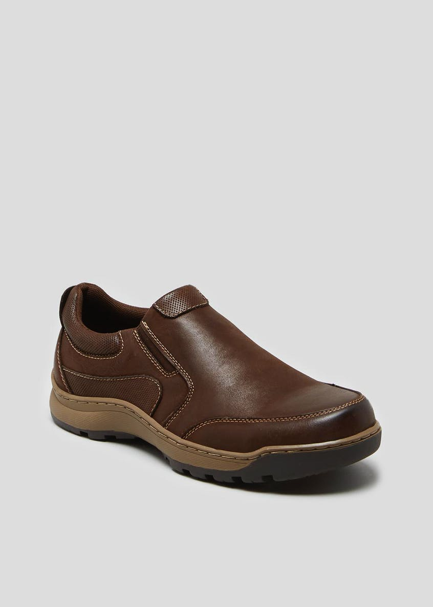 Hush Puppies Jasper Real Leather Slip On Shoes