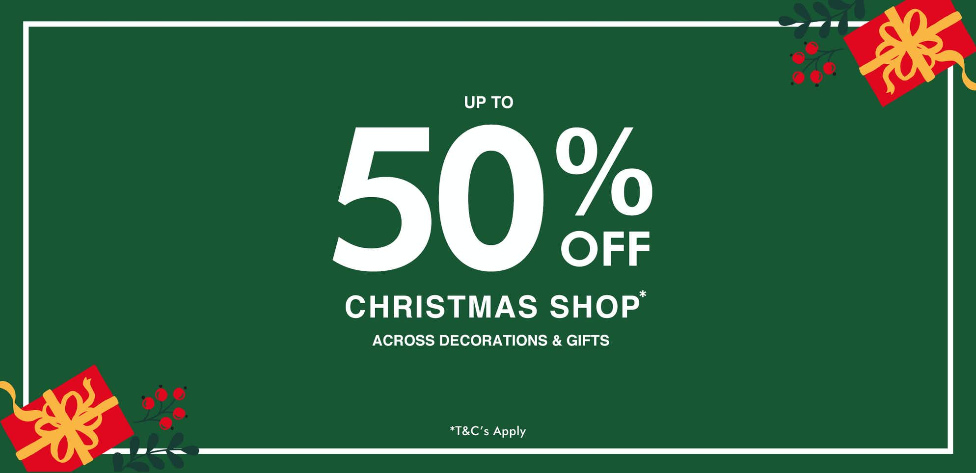 shop Christmas Sale