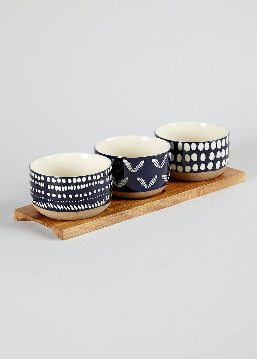Ceramic Bowl Set (9cm x 6cm)