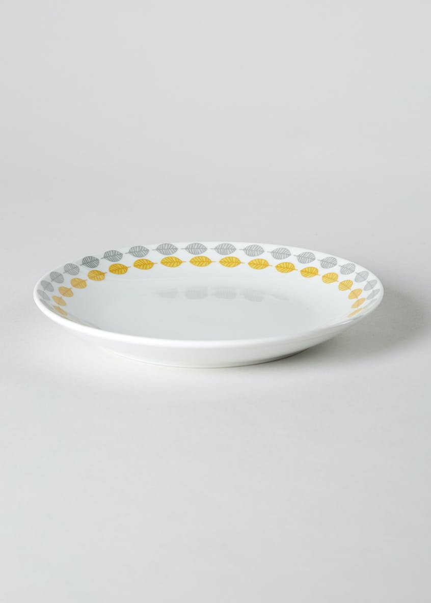 Scandi Border Round Side Plate (19cm)