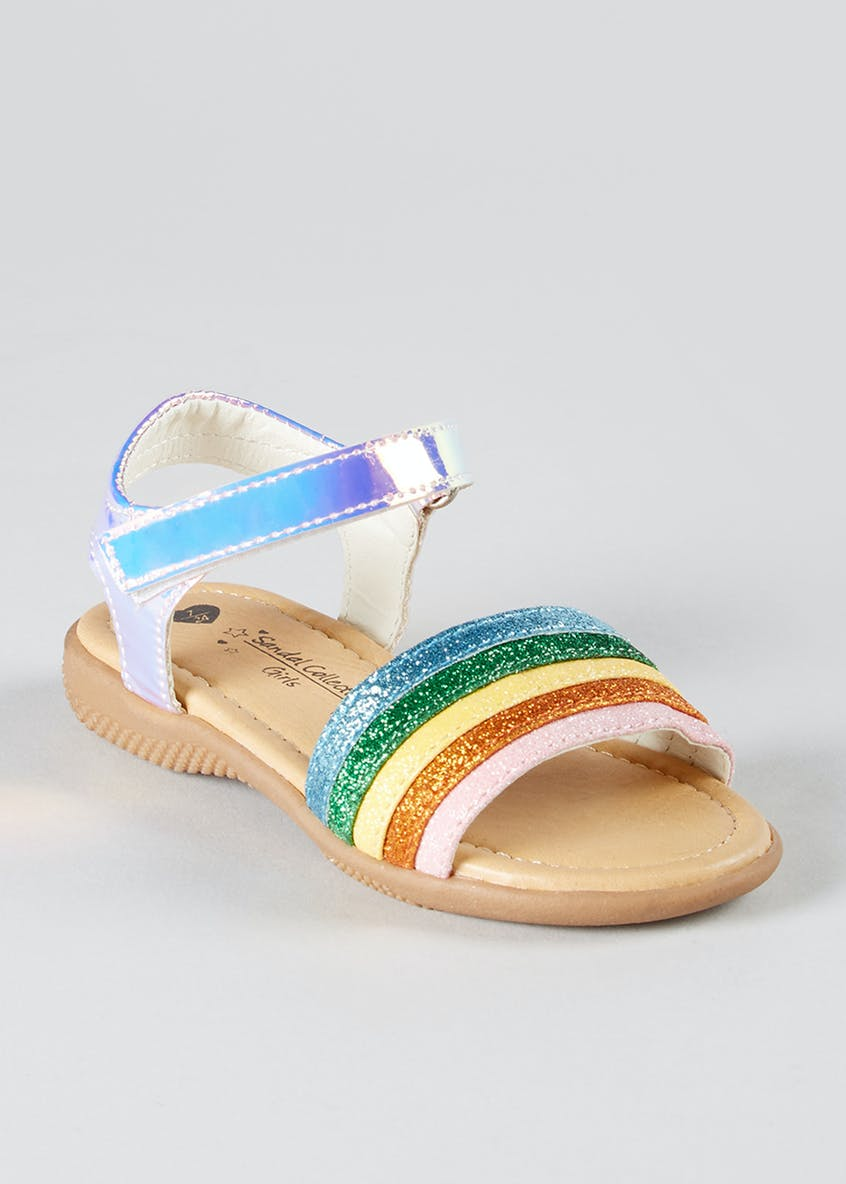 Girls Rainbow Sandals (Younger 4-12)
