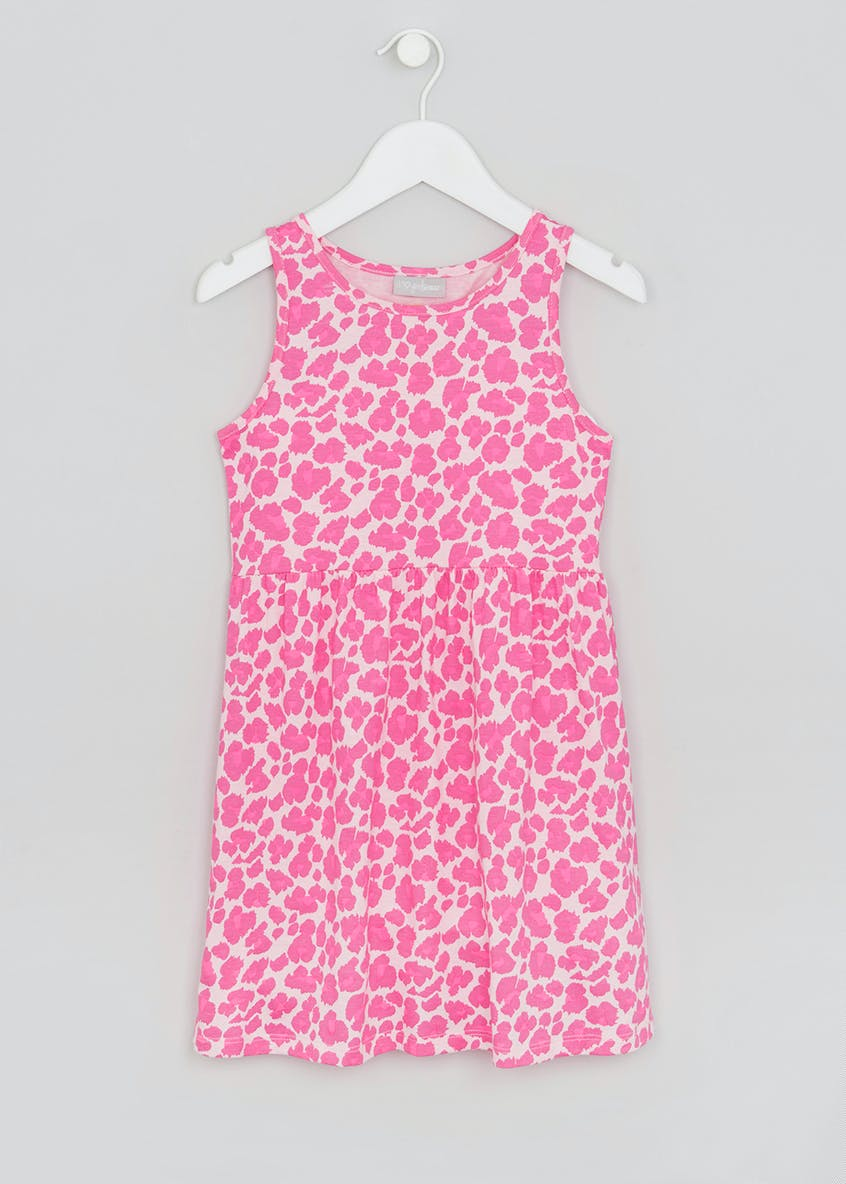 Girls Animal Print Dress (4-13yrs)