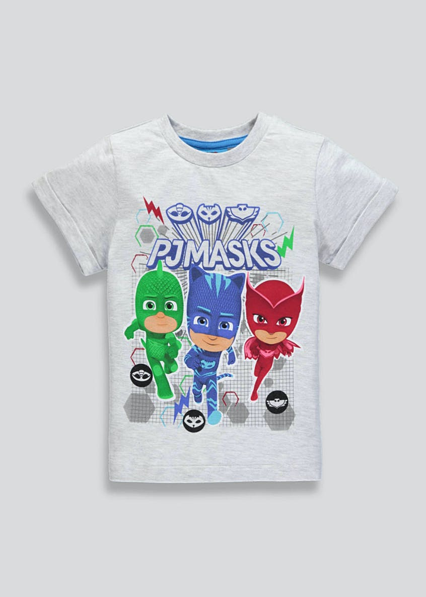 Kids PJ Masks T-Shirt (12mths-7yrs)