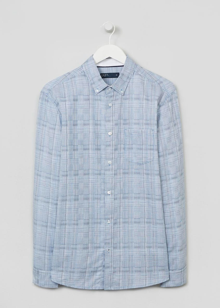 Crosshatch Check Shirt