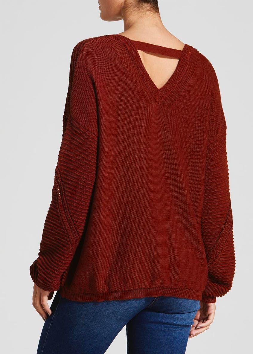 Travelling Pointelle Jumper