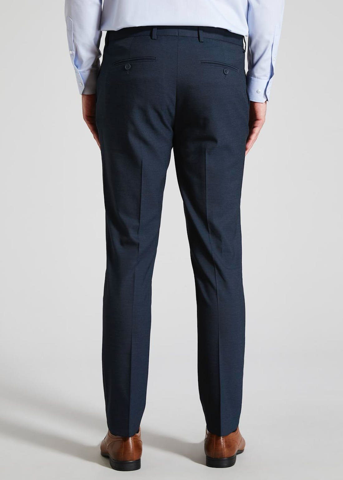 Bond Skinny Textured Trousers
