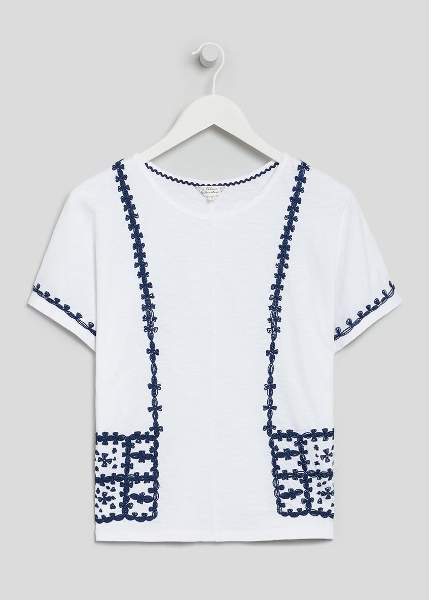Falmer Embroidered Front T-Shirt