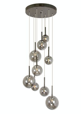 Nyla Smoked Cluster Light (H110-130cm x W40cm)