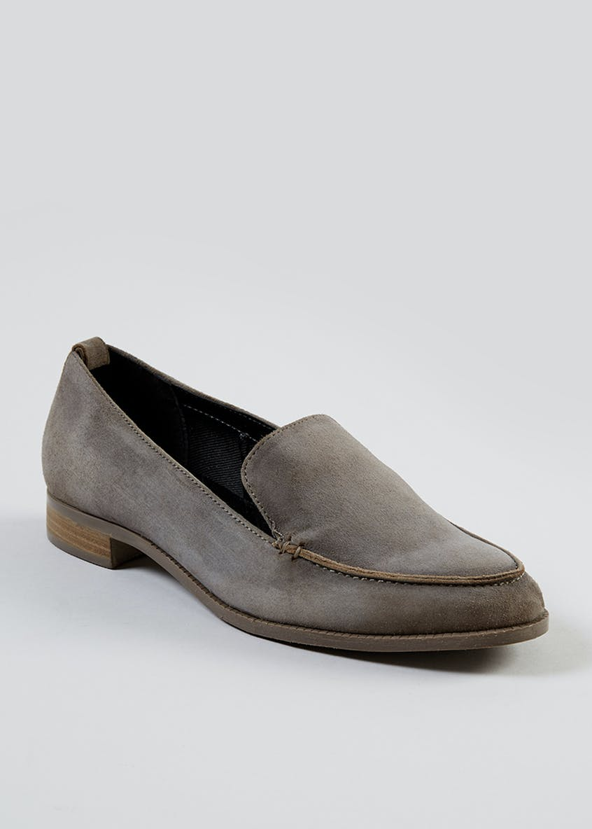 Real Suede Loafers