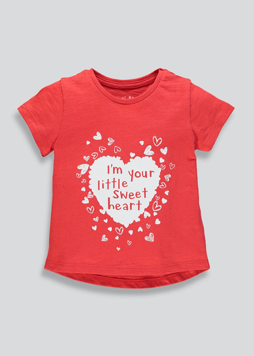 Kids Sweetheart T-Shirt (9mths-6yrs)