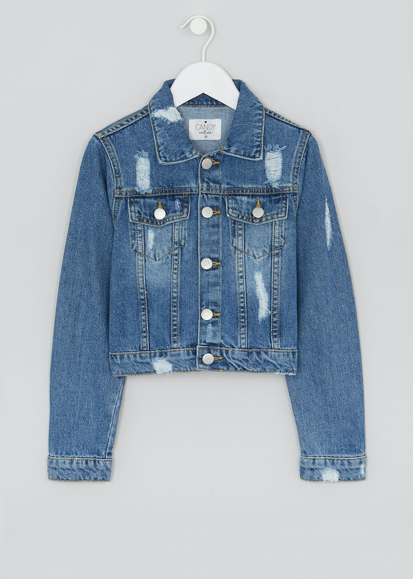 Girls Candy Couture Denim Jacket (9-16yrs)