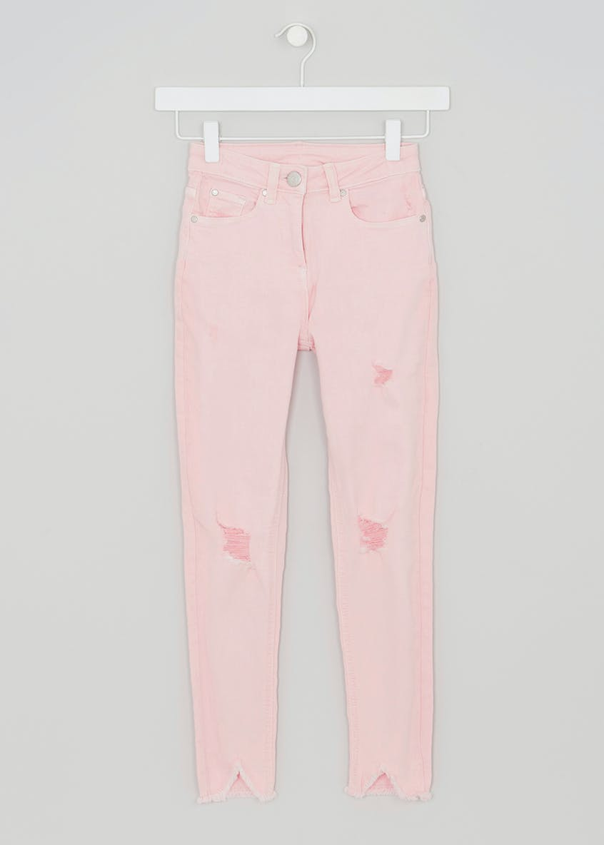 Girls Candy Couture Ripped Skinny Jeans (9-16yrs)