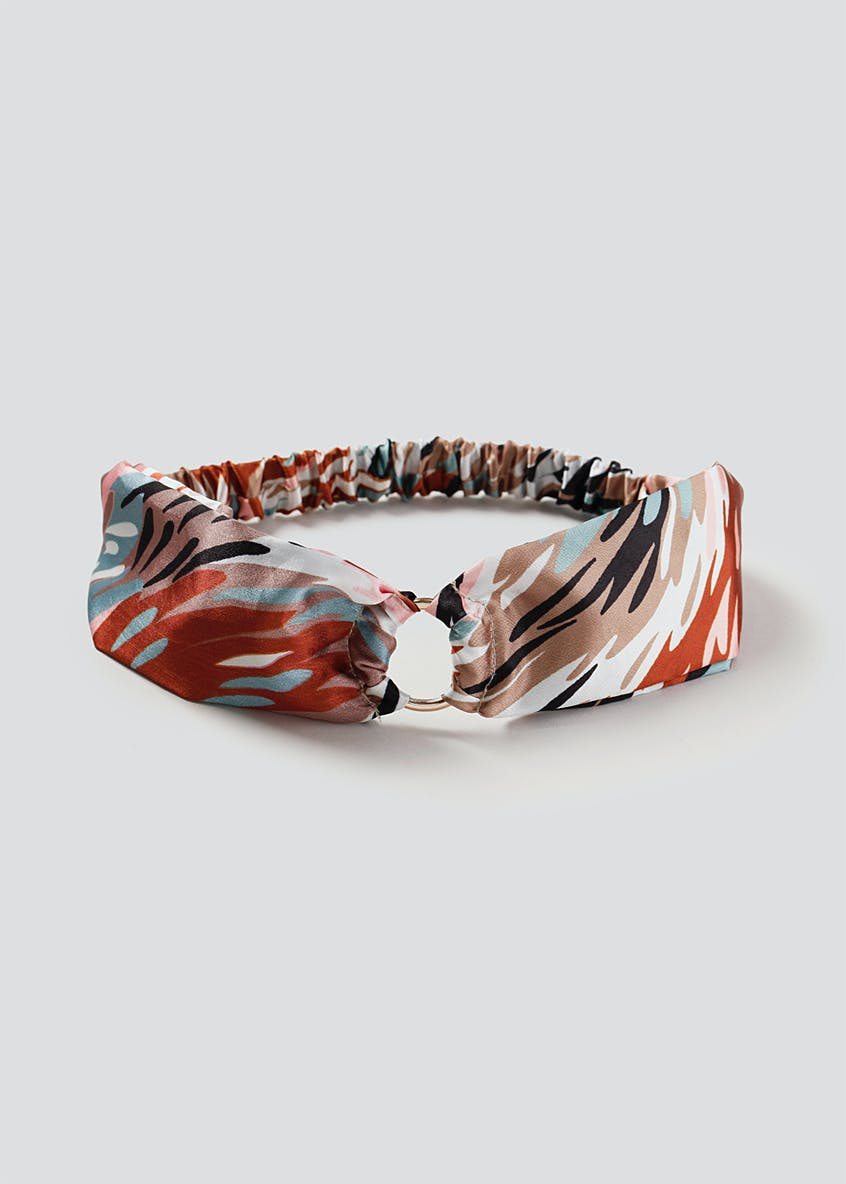 Printed Hair Ring Bandeau