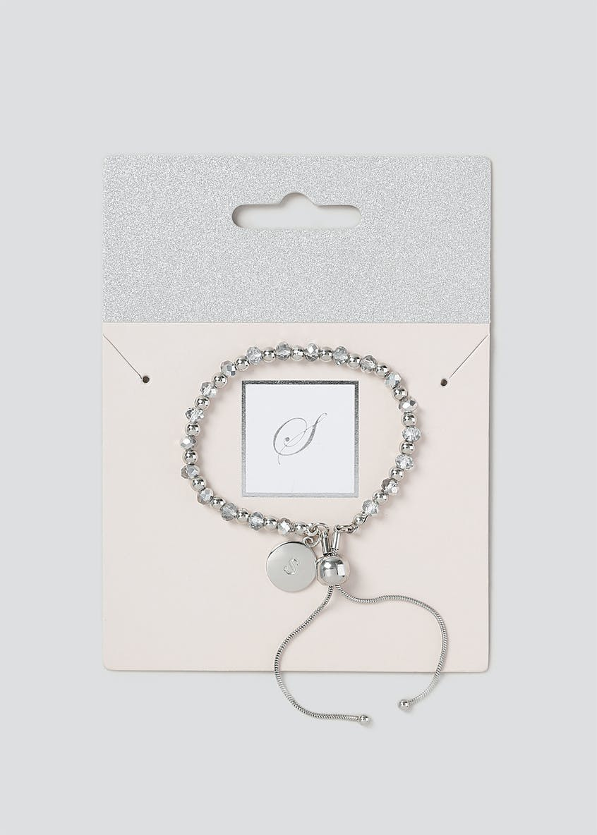 S Initial Toggle Bracelet