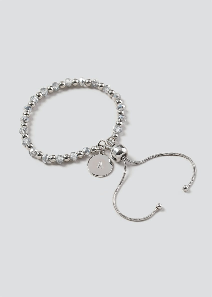 A Initial Toggle Bracelet